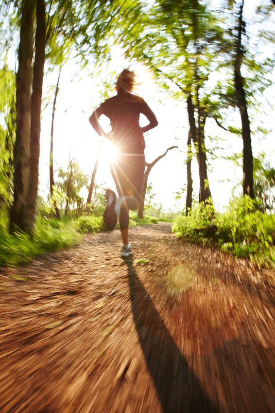 бег по утрам для похудения питание