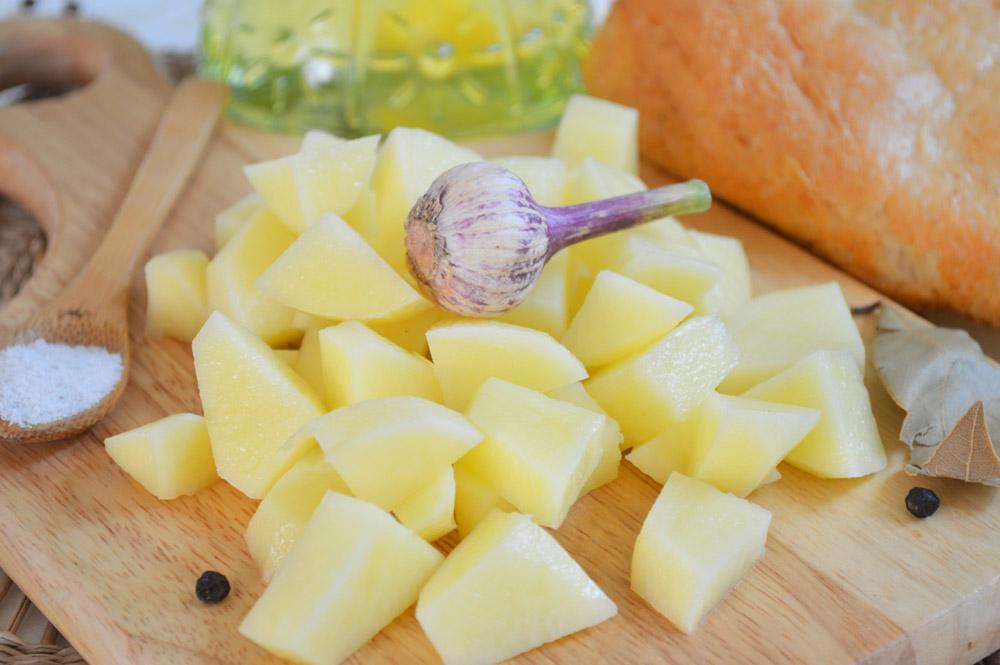 пошаговый рецепт приготовления супа с картошкой