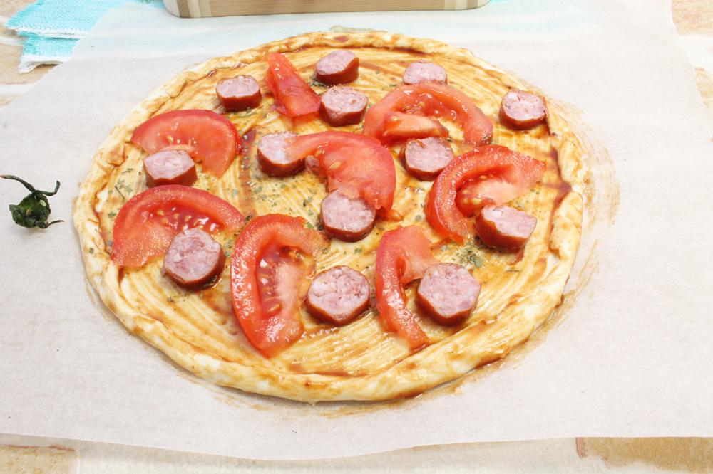 пицца рецепт быстро просто и вкусно