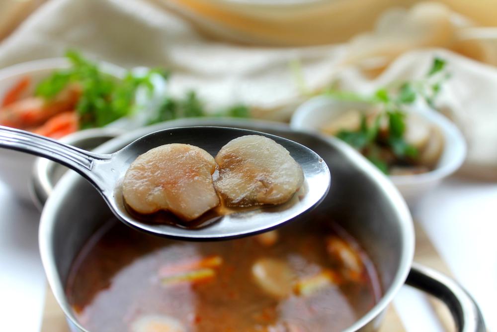 томатный суп том ям рецепт