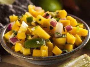 Салат с манго «Экзотика»