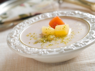 Манговый суп-пюре