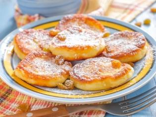 Сырники с абрикосовой начинкой