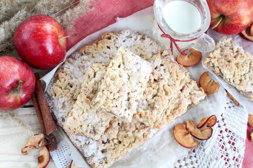 тертый пирог с яблоками рецепт фото