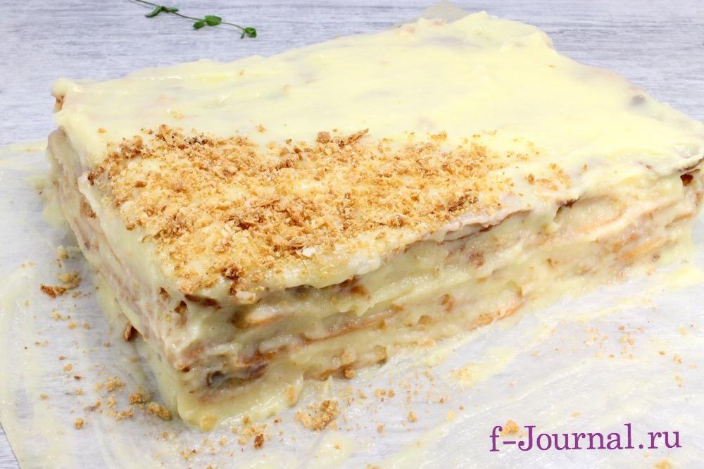 Наполеон торт домашний рецепт пошаговый 193