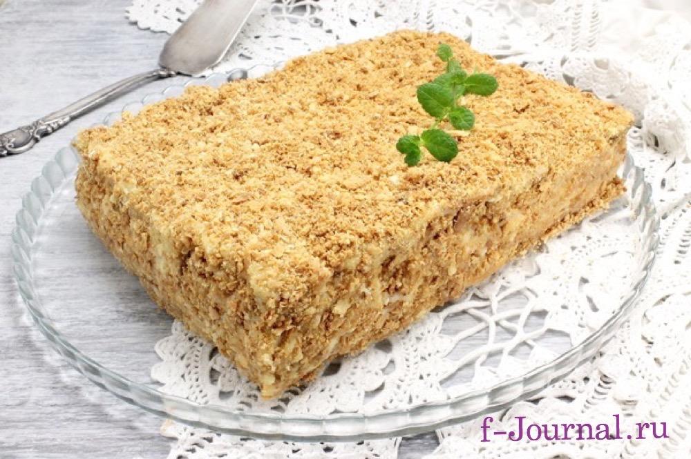 торт наполеон классический пошаговый рецепт