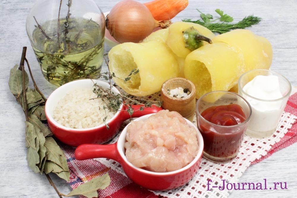 перец фаршированный мясом и рисом рецепт подливки