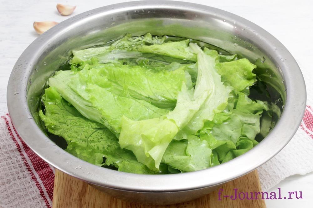 салат цезарь классический рецепт с фото пошаговое фото
