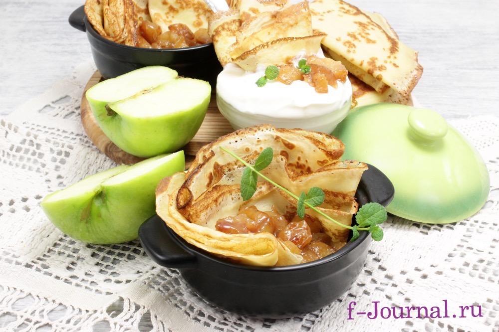 пирог с клюквой и яблоком рецепт