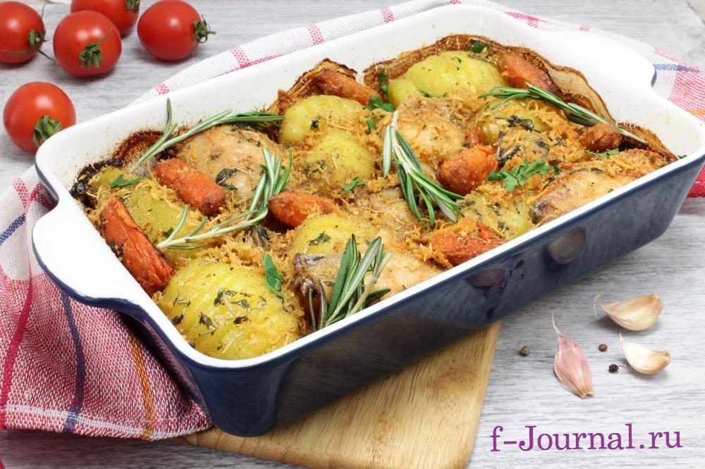 курица запеченная в духовке с рисом рецепты с фото