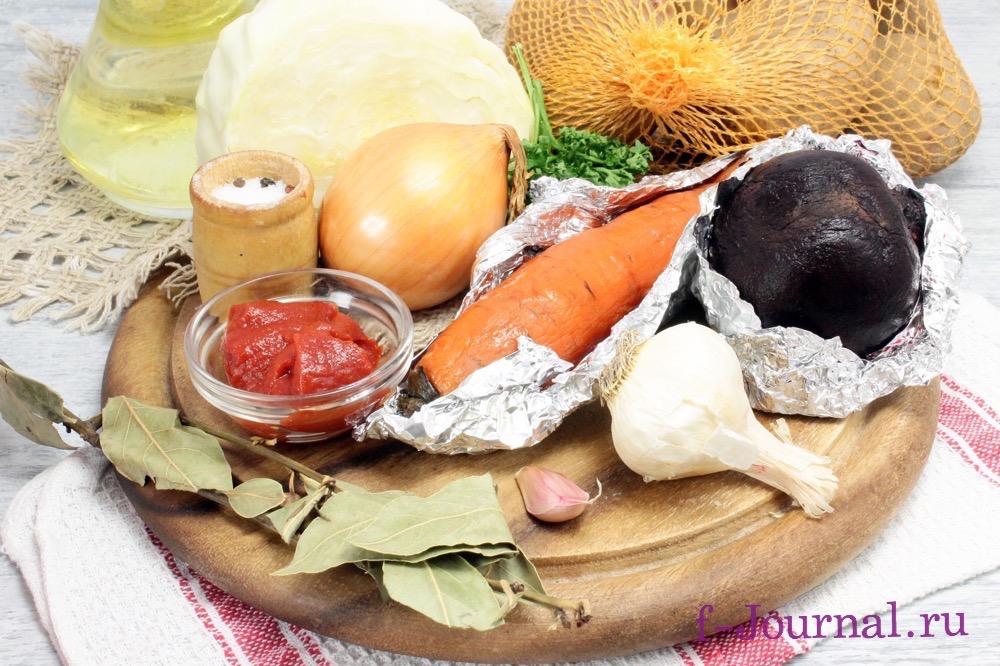 Борщ Украинский — пошаговый рецепт с фото и видео. Как ...