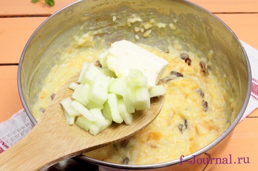 тыквенная каша с рисом на молоке рецепт с фото в мультиварке