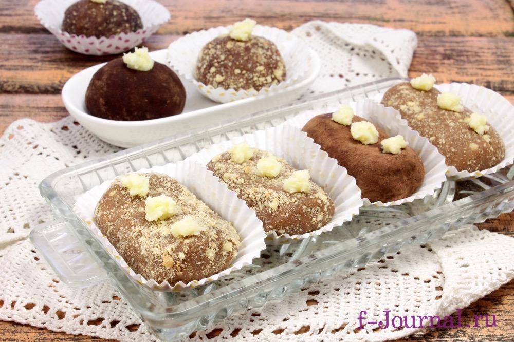 рецепт приготовления печенья картошка из печенья