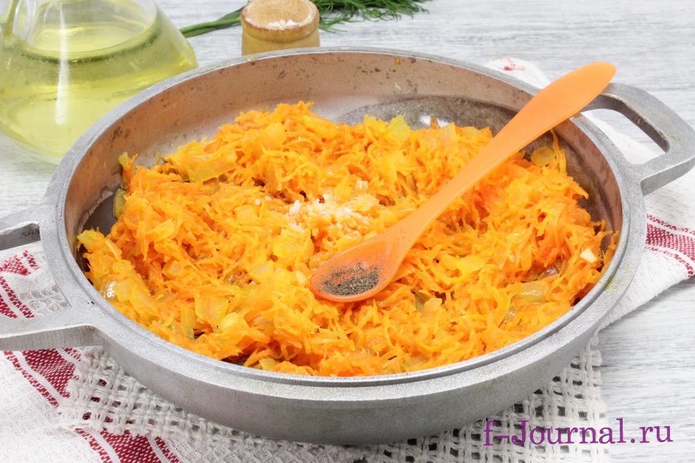 морковные котлеты в духовке рецепт