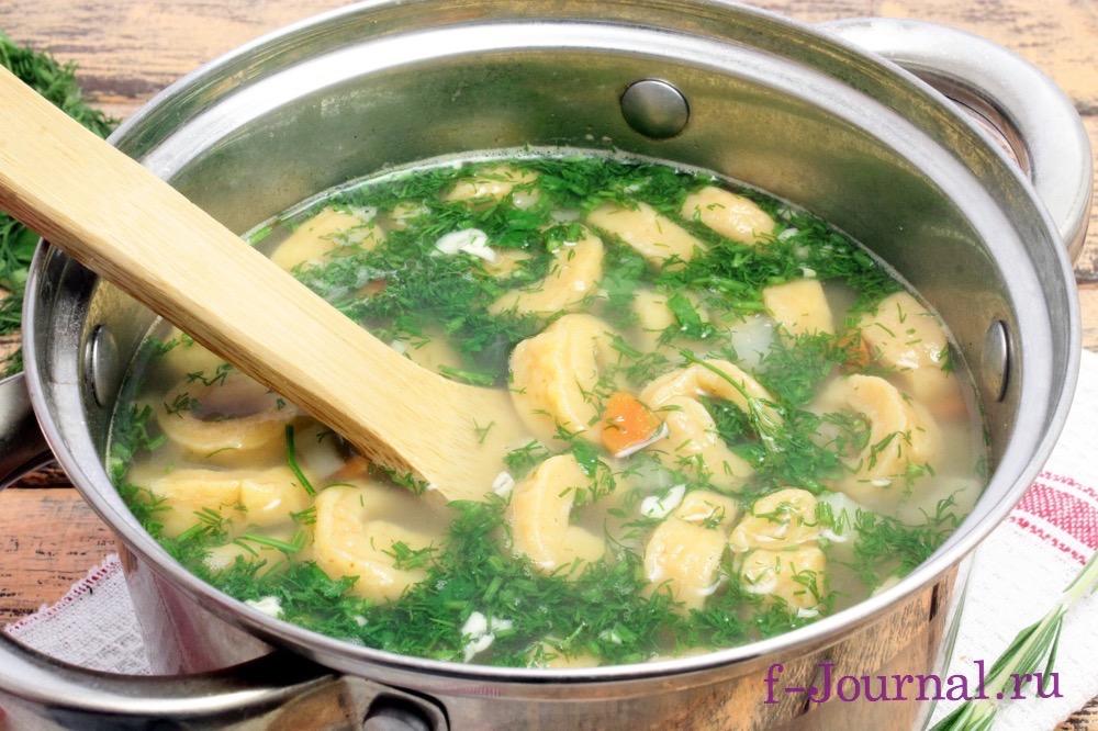 суп из клецок рецепт с домашними клецками