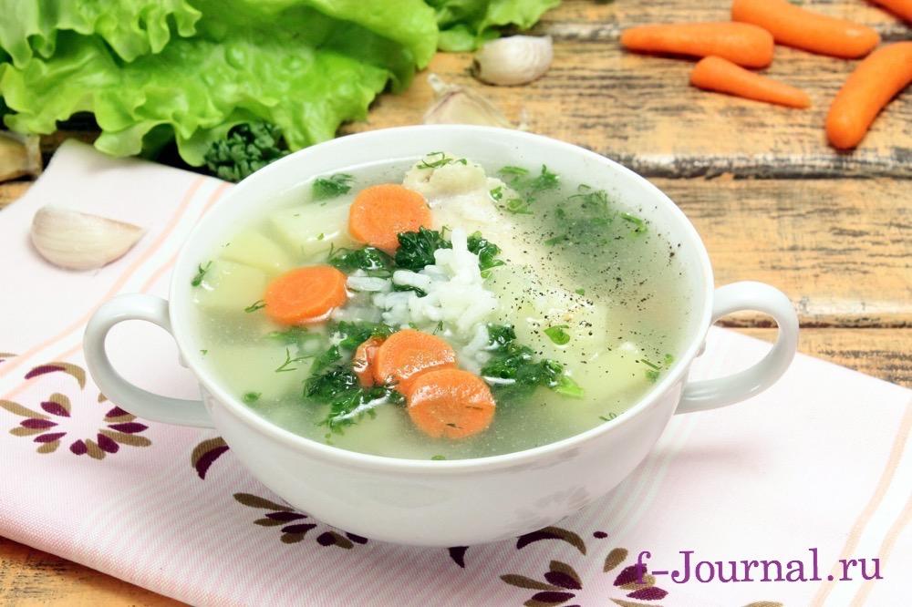 куриный суп с вермишелью или рисом рецепт