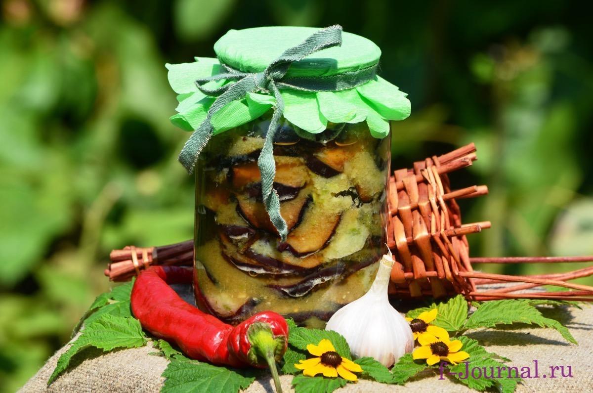 баклажаны на зиму без перца рецепты приготовления