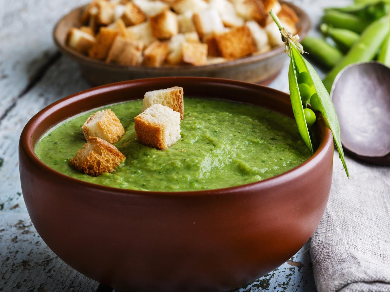гороховый суп с базиликом рецепт