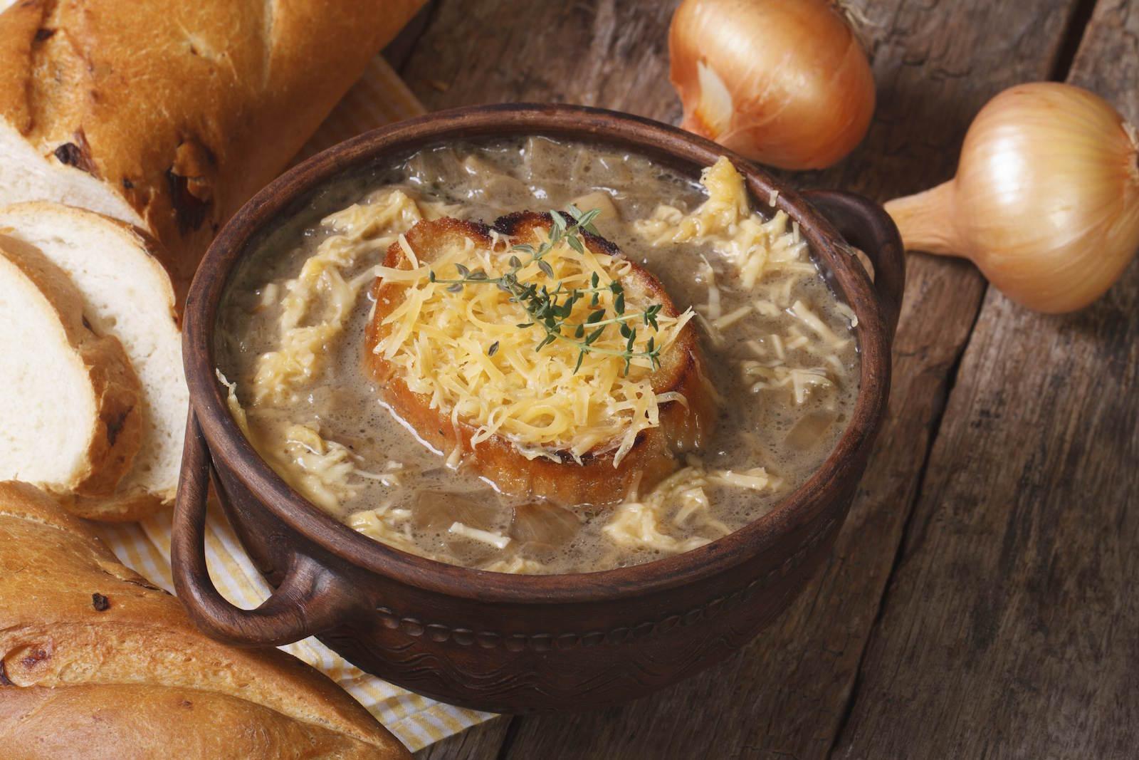 луковый суп рецепт классический для французский мука брутто