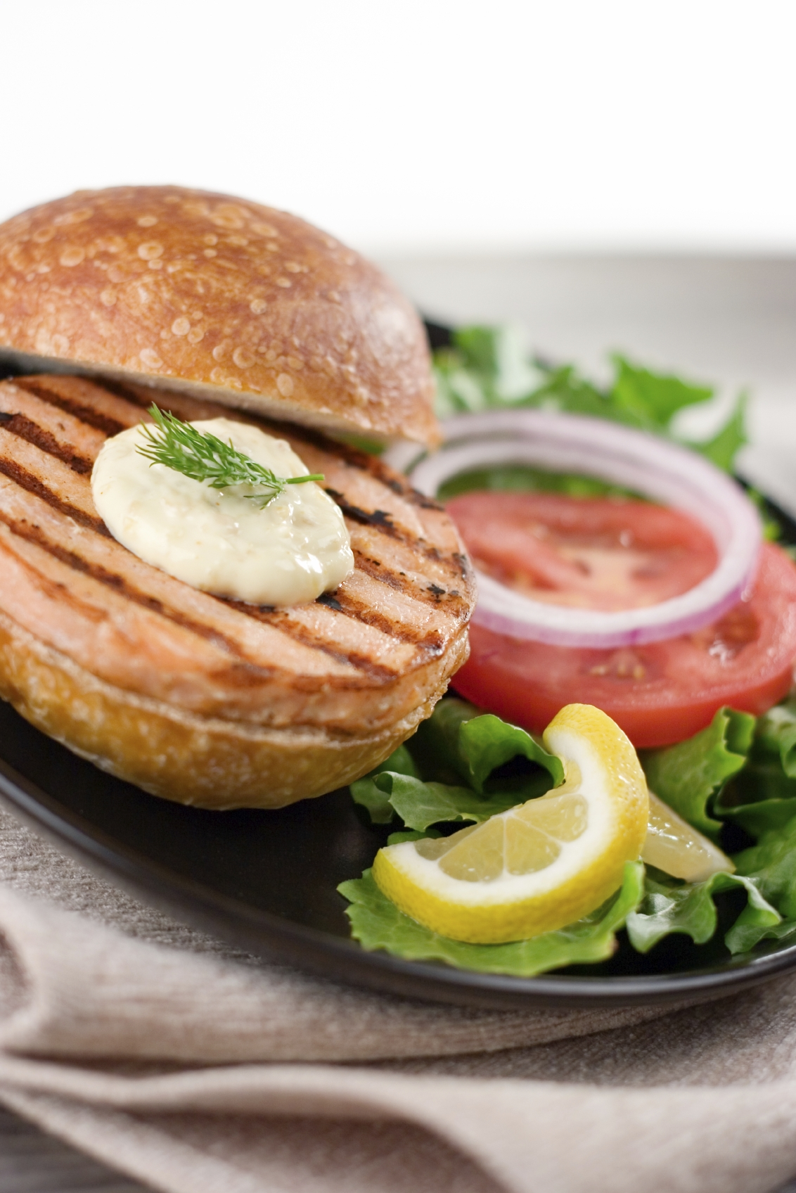 фото горбуши хлеб