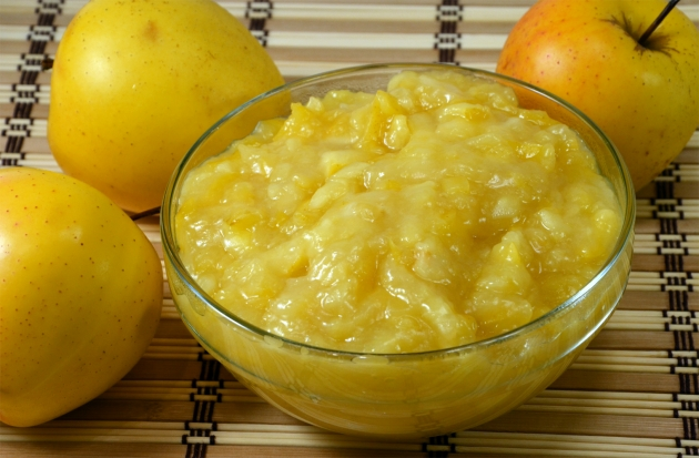 оладьи с яблочной начинкой - 6