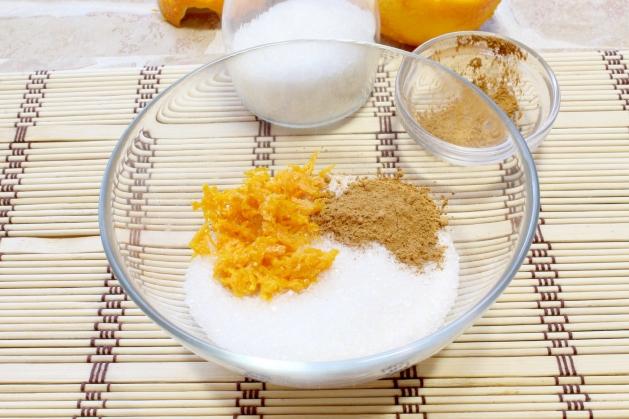 Датские апельсиновые слойки