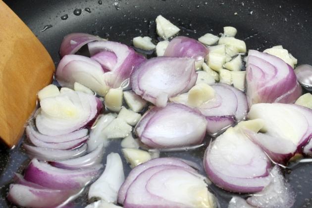 Перловка с тыквой и свининой, пошаговый рецепт с фото