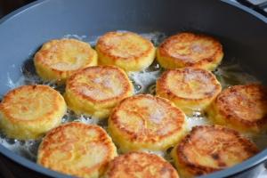 Сырники с кремом , пошаговый рецепт с фото