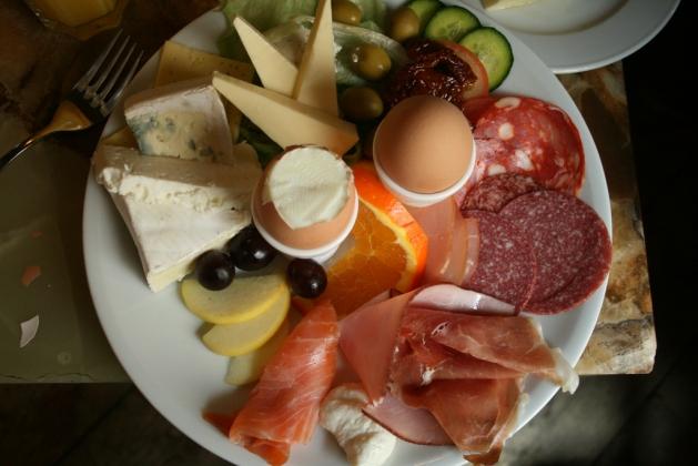 Завтрак в Германии