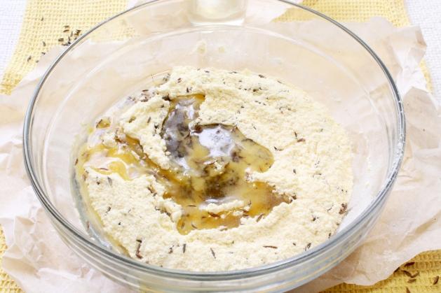 Соленый крекер, пошаговый рецепт с фото
