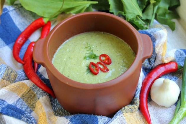 Суп пюре из брокколи