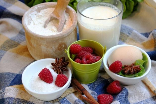 Оладьи на кислом молоке