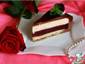 Торт «Ежевика в вине»