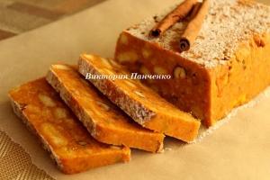 Морковный торт «Мозаика»