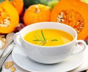 Апельсиново-тыквенный суп
