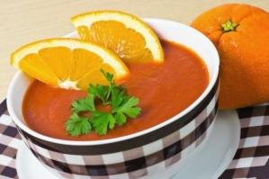 Диетический апельсиновый суп
