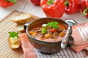 Пряный овощной суп