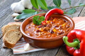 Итальянский суп Минестроне с фасолью