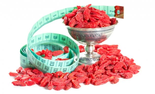 Применение ягод годжи для похудения