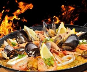 Плов с морепродуктами