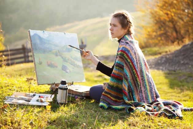 Посвятите себя творчеству