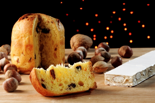 Ореховый панеттоне