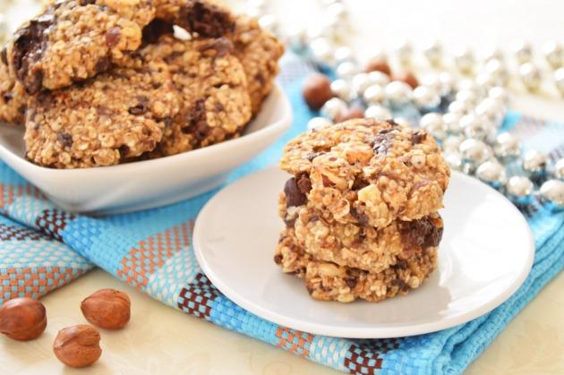 7 рецептов как приготовить овсяное печенье