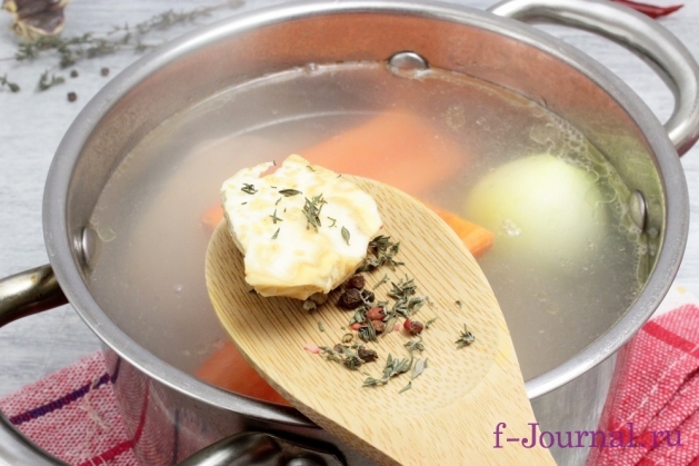 Бульон из цесарки с антоновкой, пошаговый рецепт с фото