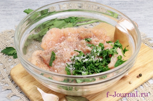 Азиатские фрикадельки, пошаговый рецепт с фото