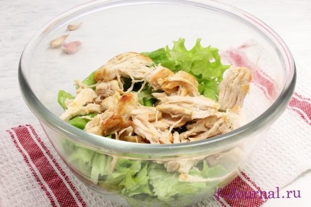Куриная грудка Цезарь, пошаговый рецепт с фото