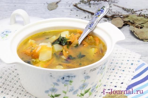 как приготовить суп рассольник с рисом рецепт