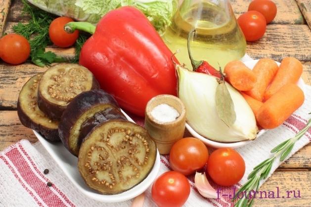 Овощное соте