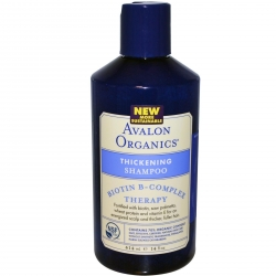 Avalon Organics, Biotin B-Complex Therapy, Укрепляющий шампунь