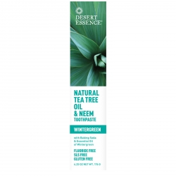 Натуральная зубная паста: чайное дерево + ним + грушанка